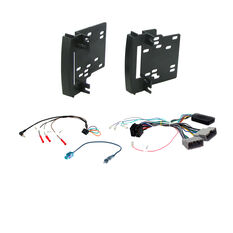 INSTALL KIT TO SUIT VARIOUS CHRYSLER, JEEP & DODGE VEHICLES (BLACK), , scaau_hi-res