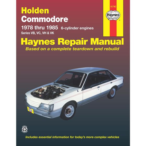 HOLDEN COMMODORE VB VC VH VK 1978-1985, , scaau_hi-res