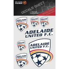 ADELAIDE UNITED ITAG DECALS SHEET