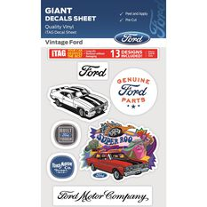 VINTAGE FORD GIANT ITAG DECALS SHEET, , scaau_hi-res