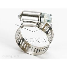 Hose Clamp 14-27mm Perforated Band, Part Stainless