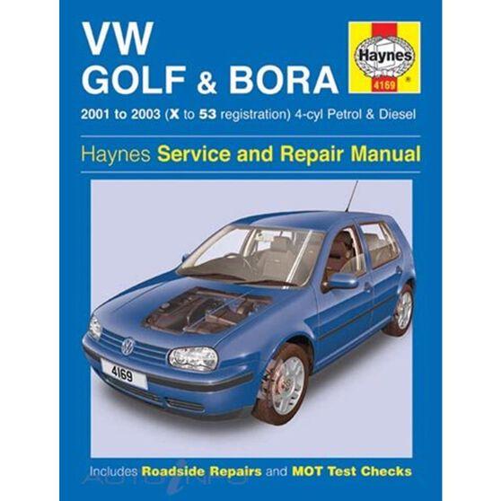VW GOLF & BORA 4-CYL PETROL & DIESEL (2001 - 2003), , scaau_hi-res