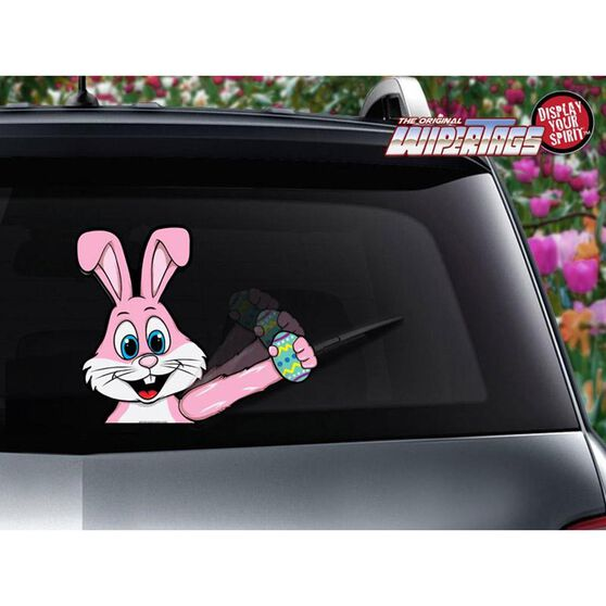 WIPER TAGS EASTER BUNNY, , scaau_hi-res