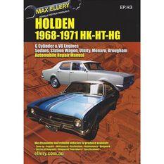 REPMAN  HOLDEN HK HT HG 1968-1971   9780958727815