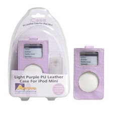 PU LEATHER CASE WITH CLEAR CLIP PURPLE -  SUIT IPOD MINI, , scaau_hi-res