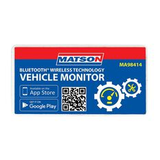 MATSON BLUETOOTH OBD VEHICLE DIAGNOSTIC MONITOR - MA98414, , scaau_hi-res