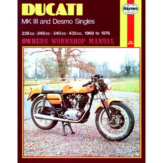 DUCATI MK III & DESMO SINGLES 1969 - 1976, , scaau_hi-res