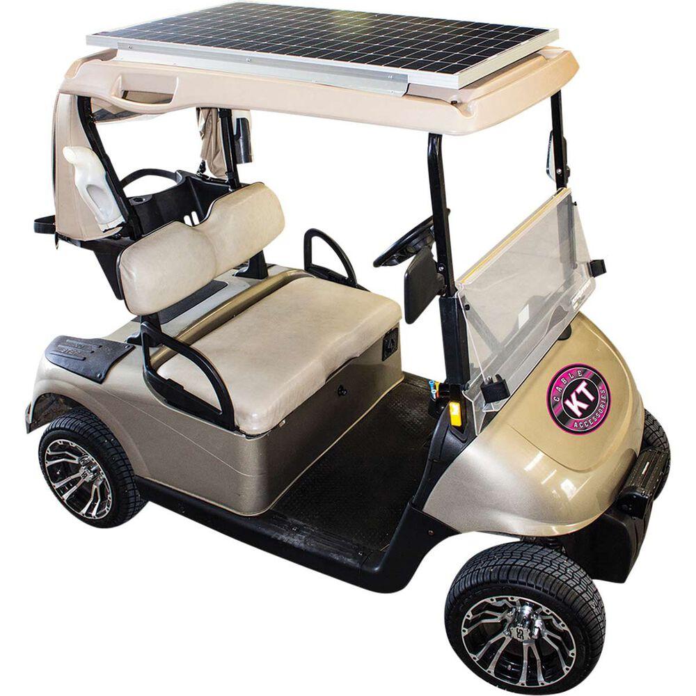 36 48v 160 Watt Mono Golf Buggy Solar Panel System