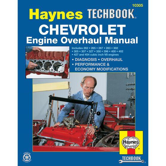 CHEVROLET ENGINE OVERHAUL HAYNES TECHBOOK, , scaau_hi-res