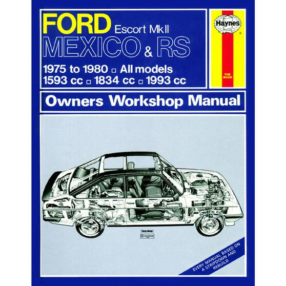 FORD ESCORT MK II MEXICO, RS 1800 & RS 2000 (1975 - 1980), , scaau_hi-res