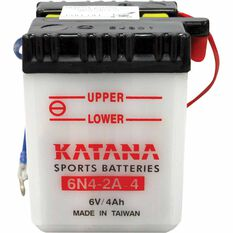 KATANA MOTORCYCLE BATTERY - 6N4-2A-4, , scaau_hi-res