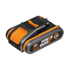 WORX 20V 2.0AH MAX LITHIUM-ION BATTERY PACK WITH BATTERY CAPACITY INDICATOR, , scaau_hi-res