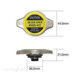 TRIDON RECOVERY RADIATOR CAP 10 PACK, , scaau_hi-res