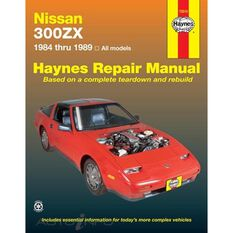 NISSAN 300ZX HAYNES REPAIR MANUAL FOR 1984 THRU 1989 MODELS INCLUDING TURBO, 2SEATER AND 2 + 2 V6 ENGINE, , scaau_hi-res