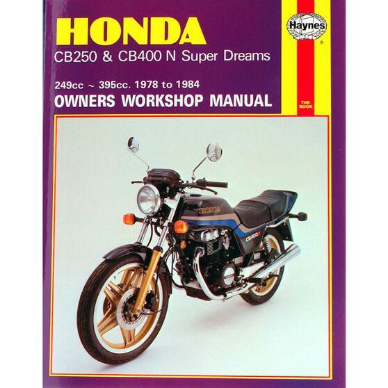 HONDA CB250 & CB400N SUPER DREAMS 1978 - 1984, , scaau_hi-res