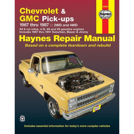 CHEVROLET & GMC PICK-UP, '67-'87, , scaau_hi-res