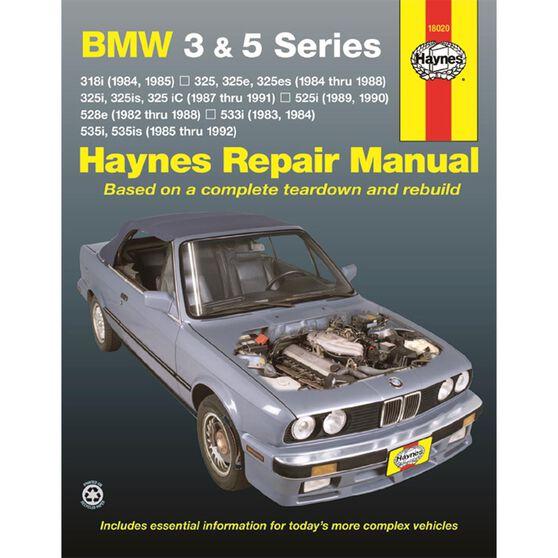 BMW 3 & 5 SERIES, '82-'92, , scaau_hi-res