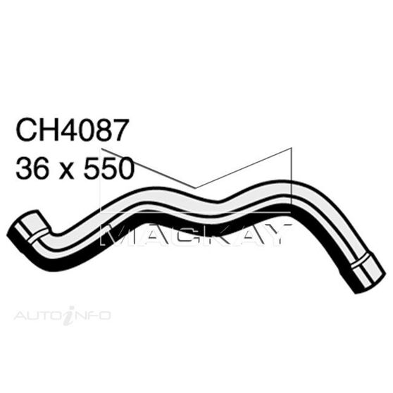 Top Hose MERCEDES - BENZ E200CDi (Overseas Model)  2.0 Litre (Export Only)*, , scaau_hi-res