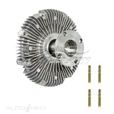 FAN CLUTCH RODEO DIESEL 2.5L 4JA1 3.0L 4JH1TC, , scaau_hi-res