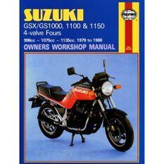 SUZUKI GS/GSX1000, 1100 & 1150 4-VALVE FOURS 1979 - 1988, , scaau_hi-res