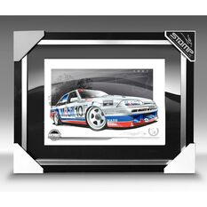 A3 SIZE - 1987 VL COMMODORE SS GROUP A BROCK / MCLEOD / PARSONS (B025), , scaau_hi-res
