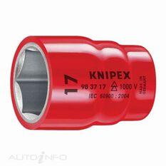 """KNIPEX 1000V 3/8"""" DR HEX SOCKET 17MM, , scaau_hi-res"""