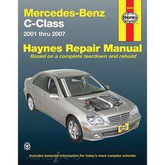 MERCEDES-BENZ C-CLASS HAYNES REPAIR MANUAL FOR 2001 THROUGH 2007 (EXCLUDES AMG MODELS), , scaau_hi-res