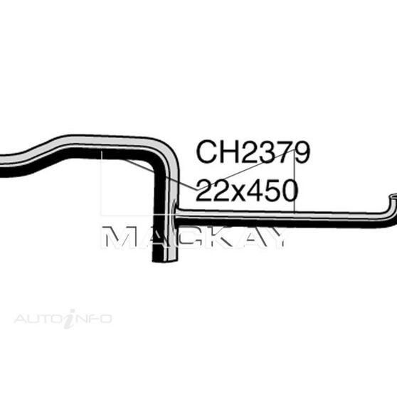 Heater Hose SAAB 900   2.0 Litre DOHC Heater to Water Pump*, , scaau_hi-res