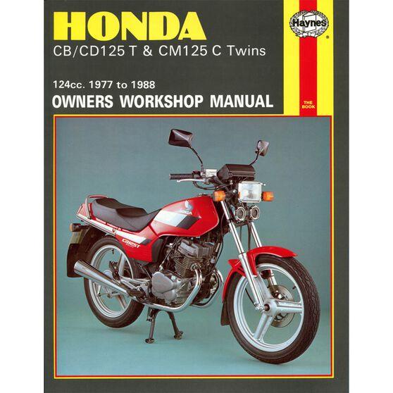 HONDA CB/CD125T & CM125C TWINS 1977 - 1988, , scaau_hi-res