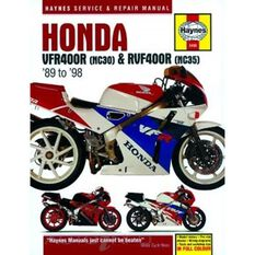 HONDA VFR400 (NC30) & RVF400 (NC35) V-FOURS 1989 - 1998, , scaau_hi-res