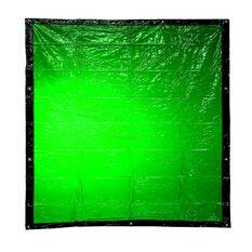 BOSSSAFE 1.8MT X 1.3MT GREEN WELDING CURTAIN, , scaau_hi-res