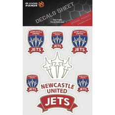 NEWCASTLE JETS ITAG DECALS SHEET
