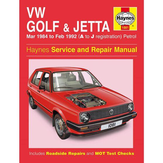VW GOLF & JETTA MK 2 PETROL (1984 -1992), , scaau_hi-res