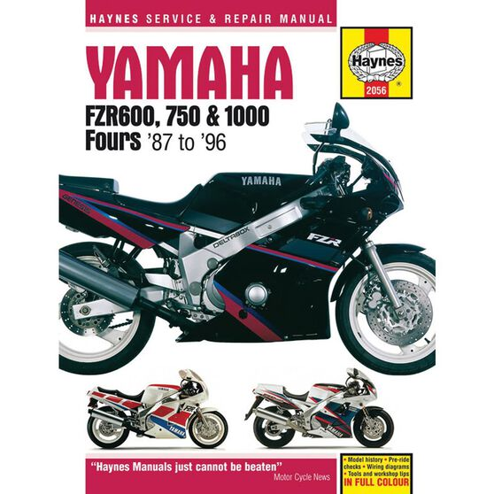YAMAHA FZR600, 750 AND 1000 FOURS 1987 - 1996, , scaau_hi-res