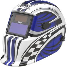 Weldskill Auto-Darkening Welding Helmet Variable Shade 9-13 Racer