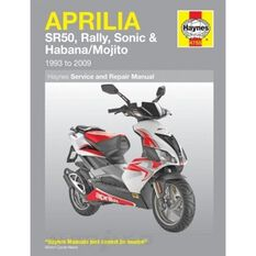 APRILIA SR50, RALLY, SONIC & HABANA/MOJITO SCOOTERS 1993 - 2009, , scaau_hi-res