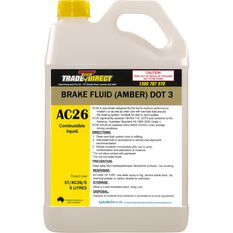 Brake Fluid: (Amber) DOT 3 - 5L Bottle, , scaau_hi-res