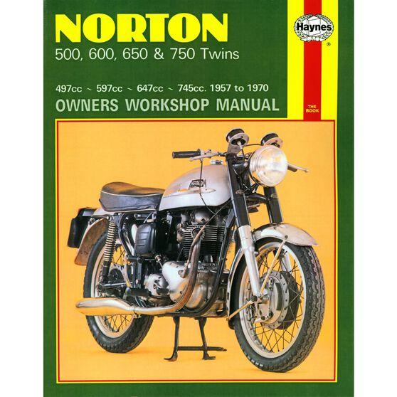 NORTON 500, 600, 650 & 750 TWINS 1957 - 1970, , scaau_hi-res