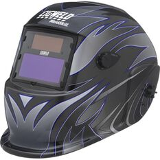 Weldskill Auto-Darkening Welding Helmet Variable Shade 9-13 Tribal