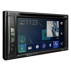 "2D SAT NAV, BT, 6.2"", DAB, CARPLAY, WIFI, DVD, IPOD/USB/SD, 3 PREOUTS (4V), INC ANDAB1"
