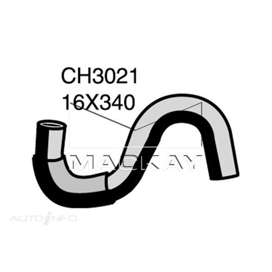 Heater Hose  - MITSUBISHI EXPRESS SJ - 2.0L I4  PETROL - Manual & Auto, , scaau_hi-res