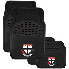 AFL CAR MATS SET OF 4 ST KILDA