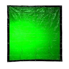 BOSSSAFE 1.8MT X 2.0MT GREEN WELDING CURTAIN