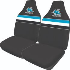 NRL SHARKS SEAT COVER SIZE 60, , scaau_hi-res