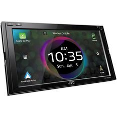 """JVC DUAL DIN MECHLESS AV RECEIVER 6.8"""" SCREEN WIRELESS CARPLAY ANDROID AUTO, , scaau_hi-res"""