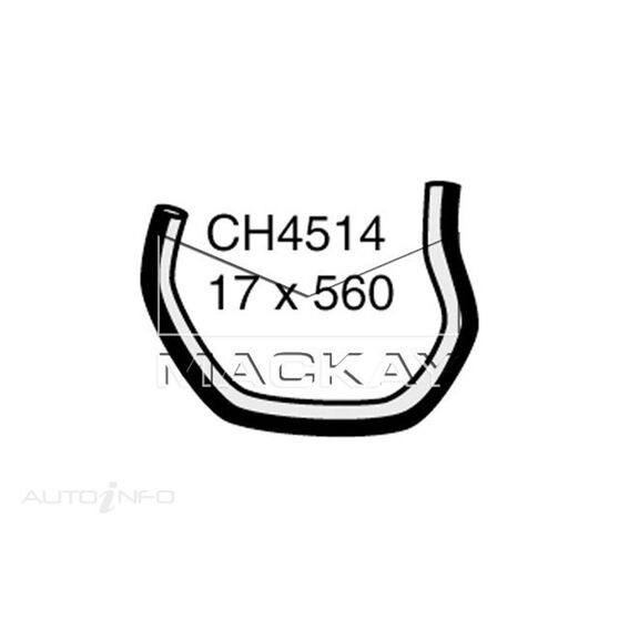 COOLANT RECOVERY TANK HOSE  - HOLDEN EPICA EP - 2.5L I6  PETROL - MANUAL & AUTO