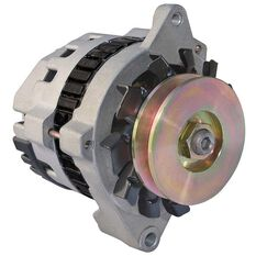 RACING ALTERNATOR DELCO 100AMP ONE WIRE CLEAR, , scaau_hi-res
