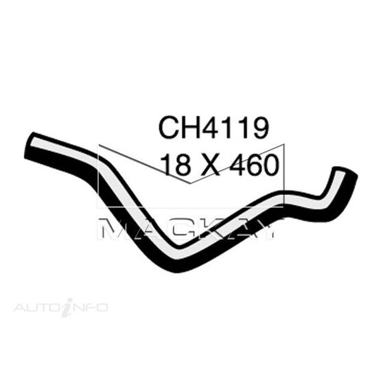 Engine By Pass Hose  - HOLDEN ASTRA TR - 1.6L I4  PETROL - Manual & Auto, , scaau_hi-res