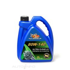 4L ULTRA CLEAR GEAR OIL FULL SYN LS 80W-140 4L, , scaau_hi-res