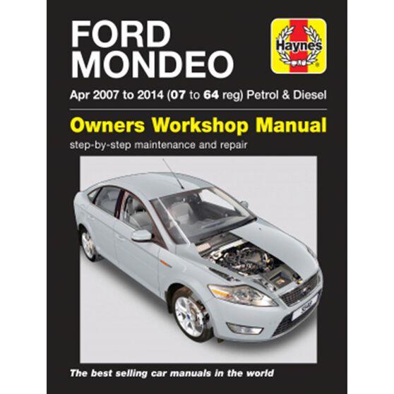 FORD MONDEO PETROL & DIESEL (2007 - 2012), , scaau_hi-res